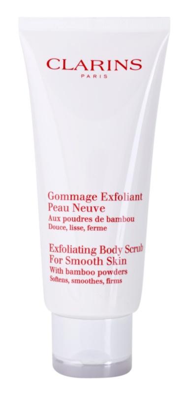 Clarins Body Exfoliating Care exfoliante corporal hidratante para dejar la piel suave y lisa