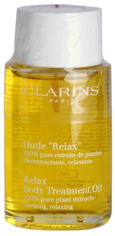 Clarins Body Specific Care entspannendes Bodyöl mit Pflanzenextrakten