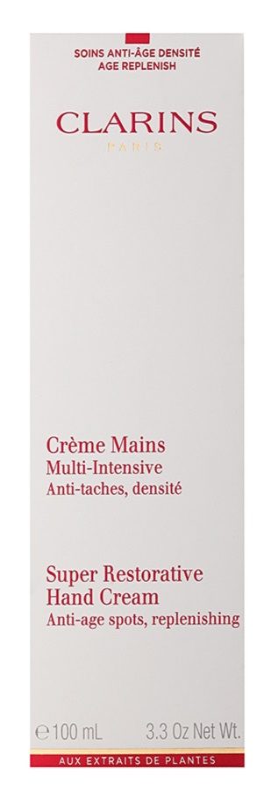 Clarins Body Super Restorative Handcrème met Herstellende Elastine Werking