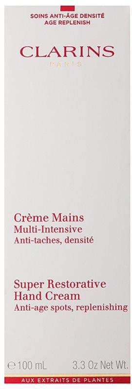 Clarins Body Super Restorative Handcreme zur Erneuerung der Geschmeidigkeit der Haut