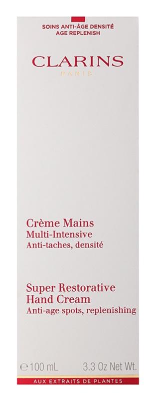 Clarins Body Super Restorative крем для рук для відновлення пружності шкіри