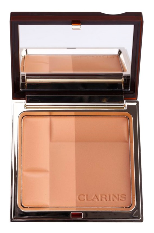 Clarins Face Make-Up Bronzing Duo minerální bronzující pudr