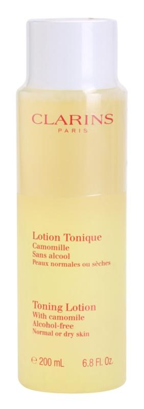 Clarins Cleansers voda za toniranje s kamilicom za normalno i suho lice