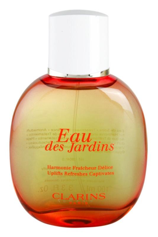 Clarins Eau Des Jardins frissítő víz nőknek 100 ml