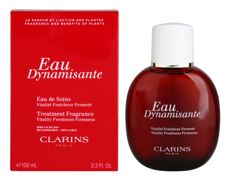 Clarins Eau Dynamisante orzeźwiająca woda unisex 100 ml napełnialny