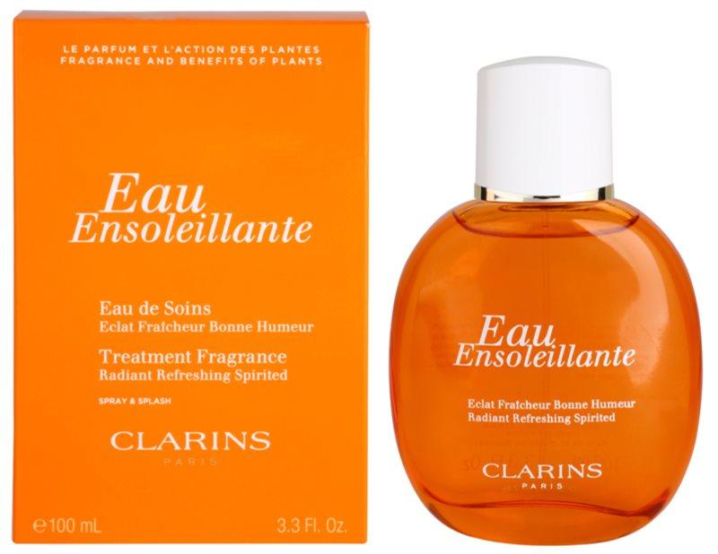 Clarins Eau Ensoleillante Erfrischendes Wasser Damen 100 ml