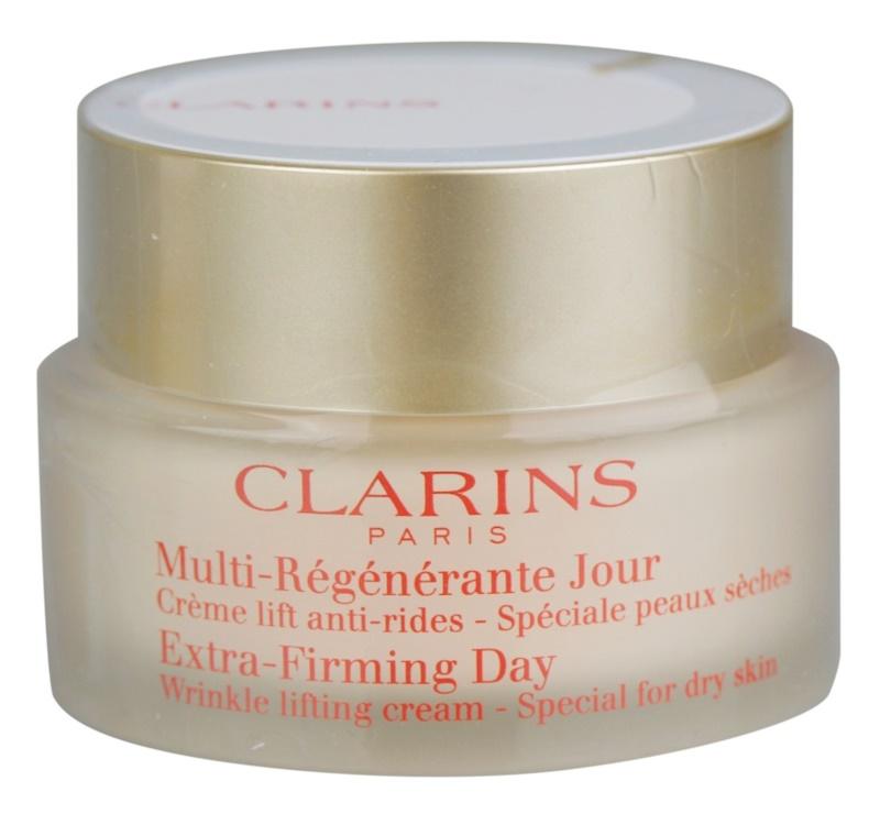 Clarins Extra-Firming dnevna lifting krema proti gubam za suho kožo