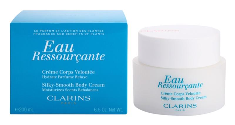 Clarins Eau Ressourcante crème corps pour femme 200 ml