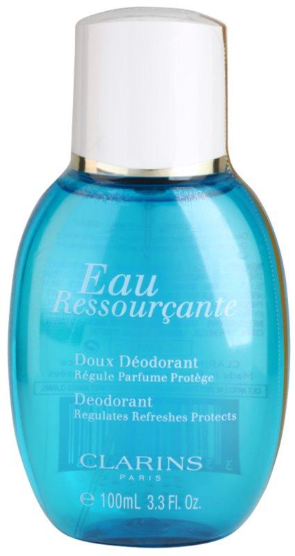 Clarins Eau Ressourcante déodorant avec vaporisateur pour femme 100 ml
