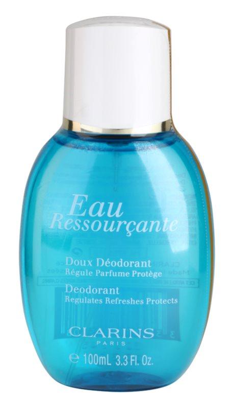 Clarins Eau Ressourcante deodorant s rozprašovačom pre ženy 100 ml