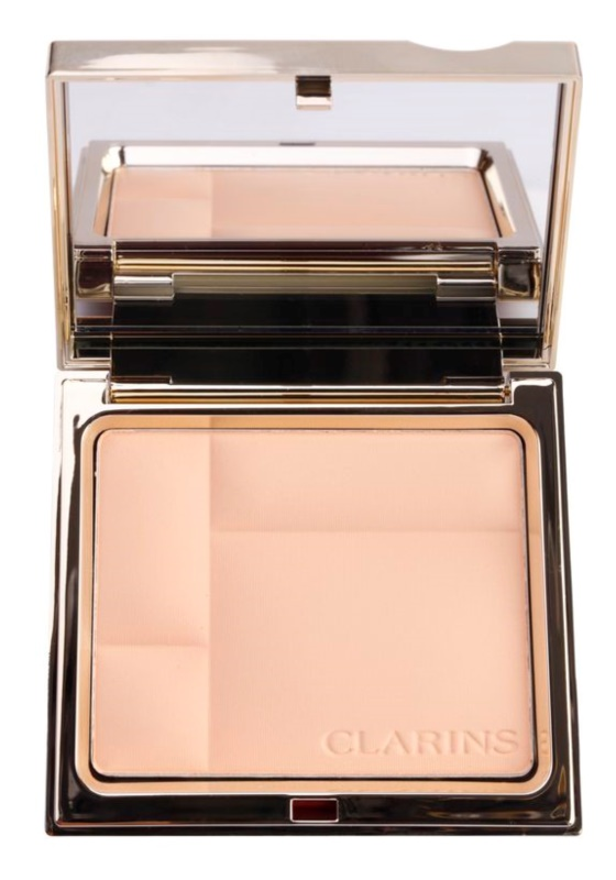 Clarins Face Make-Up Ever Matte pó compacto mineral para aspeto mate