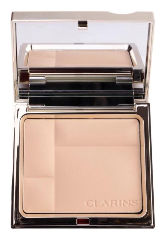 Clarins Face Make-Up Ever Matte ásványi kompakt alapozó matt hatásért