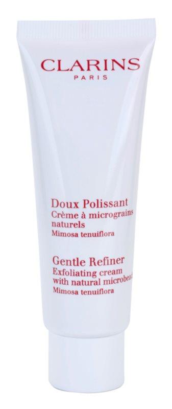 Clarins Exfoliating Care Gentle Refiner Exfoliating Cream with Natural Microbeads