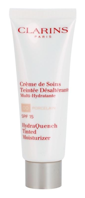 Clarins HydraQuench leichte Tönungscreme mit feuchtigkeitsspendender Wirkung LSF 15