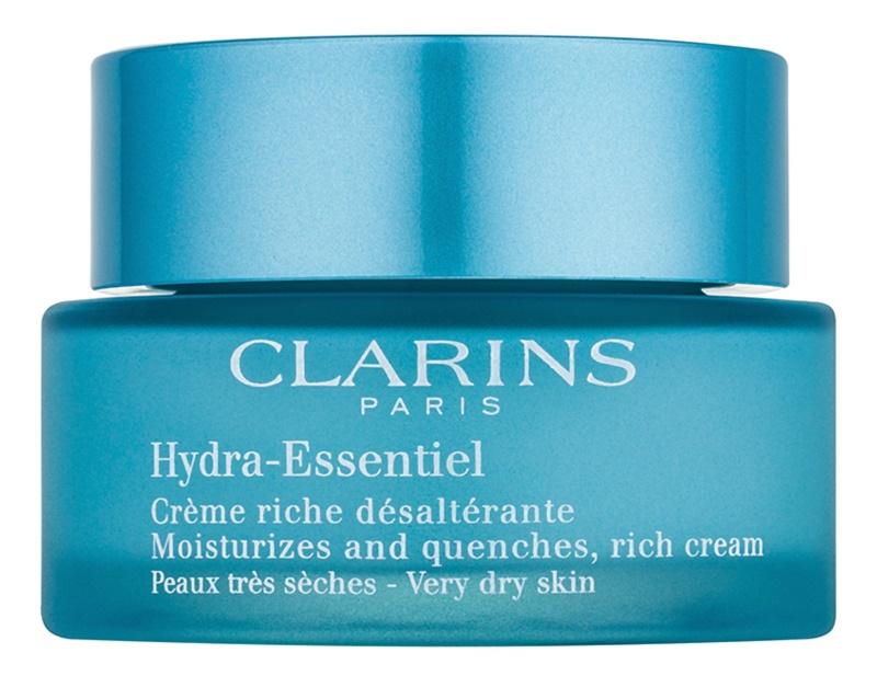 Clarins HydraQuench інтенсивний зволожуючий крем для дуже сухої шкіри