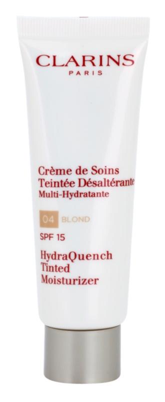 Clarins HydraQuench легкий тонуючий крем із зволожуючим ефектом SPF15