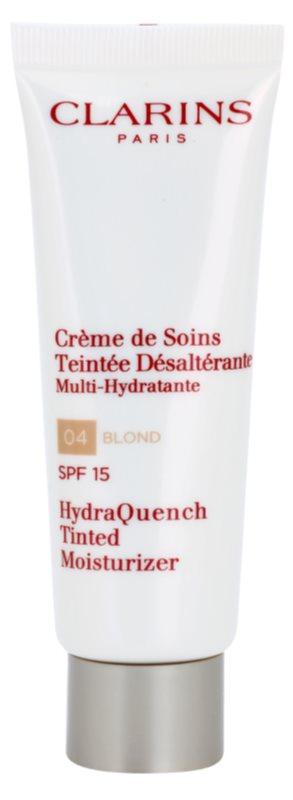 Clarins HydraQuench lehký tónovací krém s hydratačním účinkem SPF 15