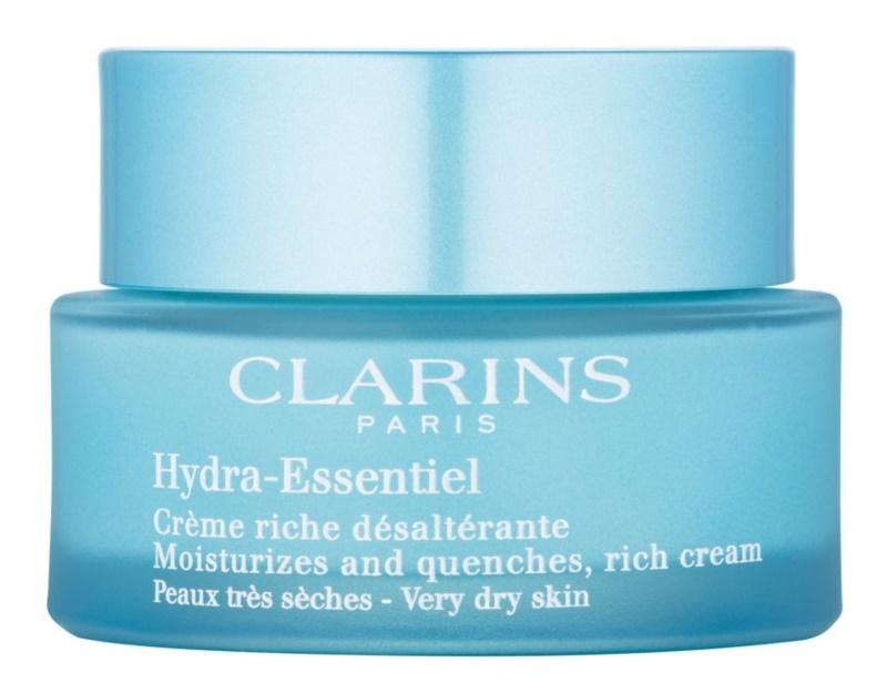 Clarins Hydra-Essentiel crema hidratante enriquecida para pieles muy secas
