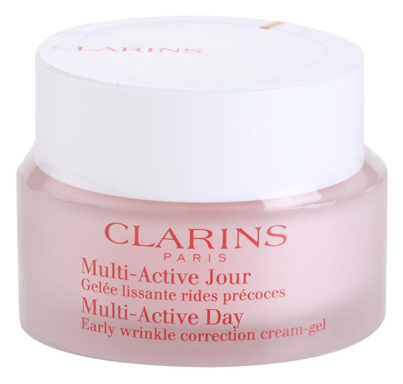 Clarins Multi-Active dnevna gel krema za zaglađivanje nježnih bora za normalnu i mješovitu kožu lica