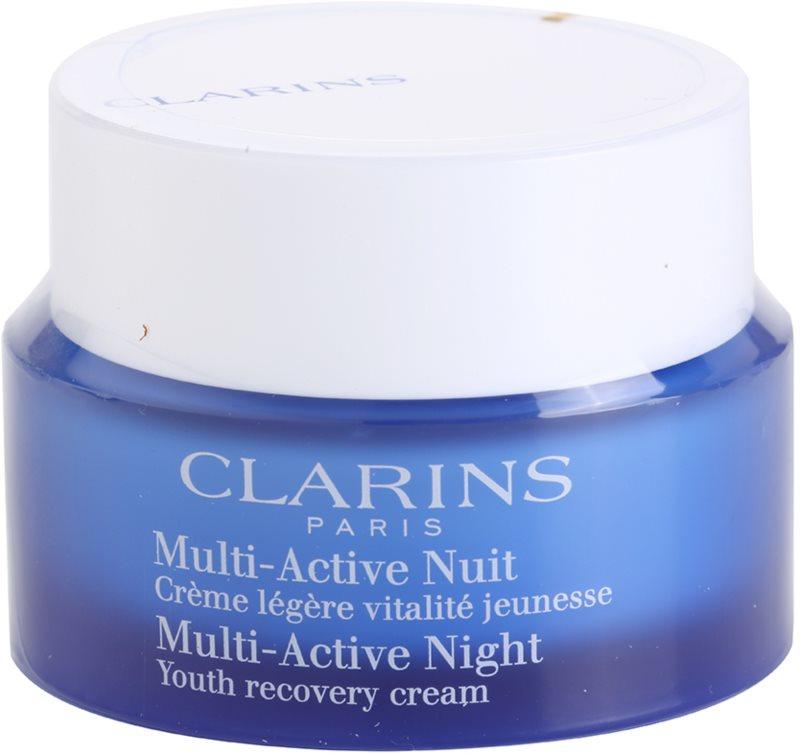 Clarins Multi-Active crema de noche reparadora revitalizante  para pieles normales y mixtas