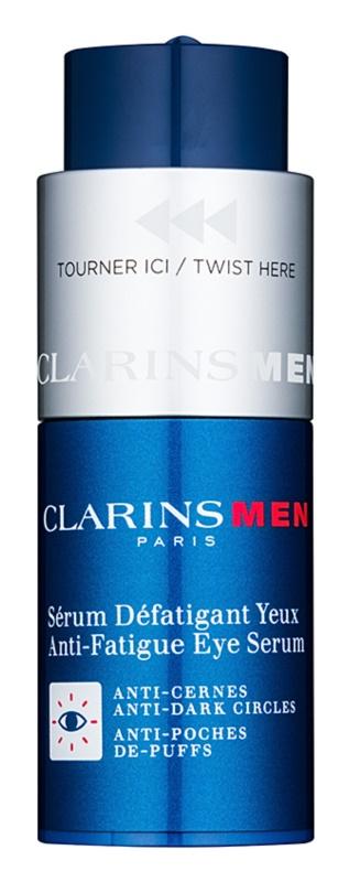Clarins Men Age Control sérum para contorno de ojos antiarrugas, antibolsas y antiojeras