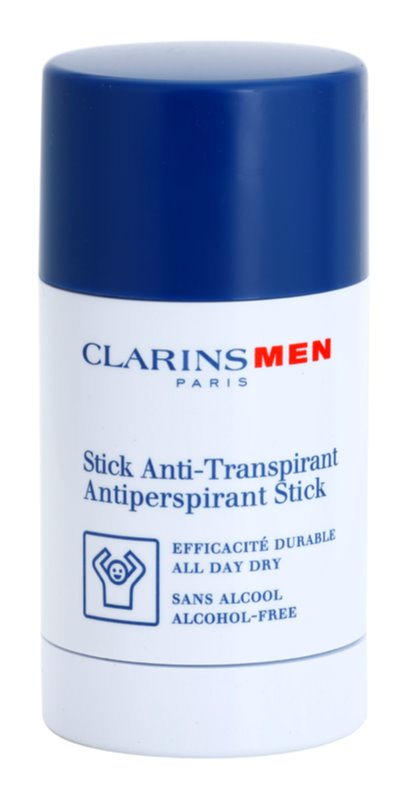 Clarins Men Body tuhý antiperspitant bez alkoholu