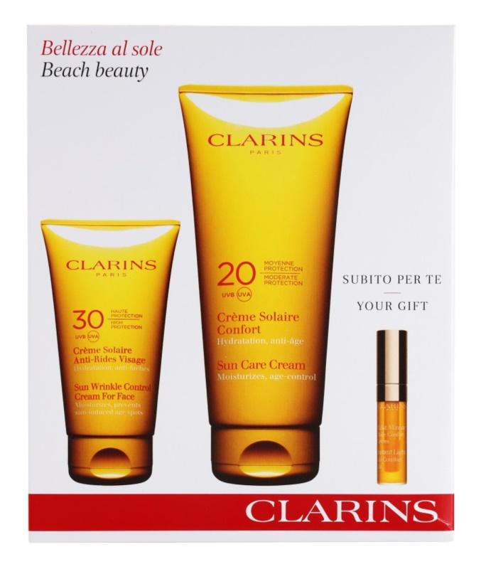 Clarins Sun Protection καλλυντικό σετ I.