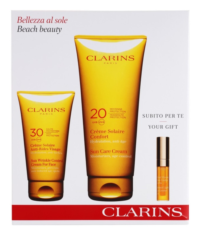 Clarins Sun Protection set cosmetice I.