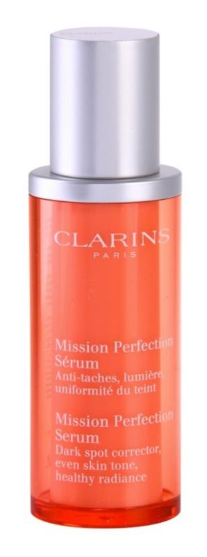Clarins Mission Perfection optimierendes Serum für Pigmentflecken