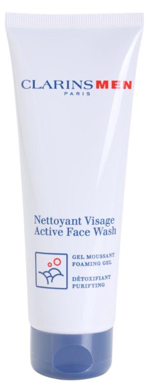 Clarins Men Wash Active Face Wash Foaming Gel