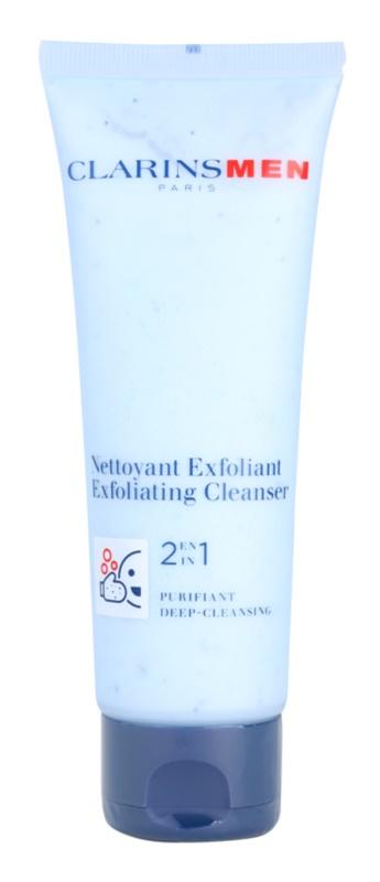 Clarins Men Wash Exfoliating Deep Cleanser