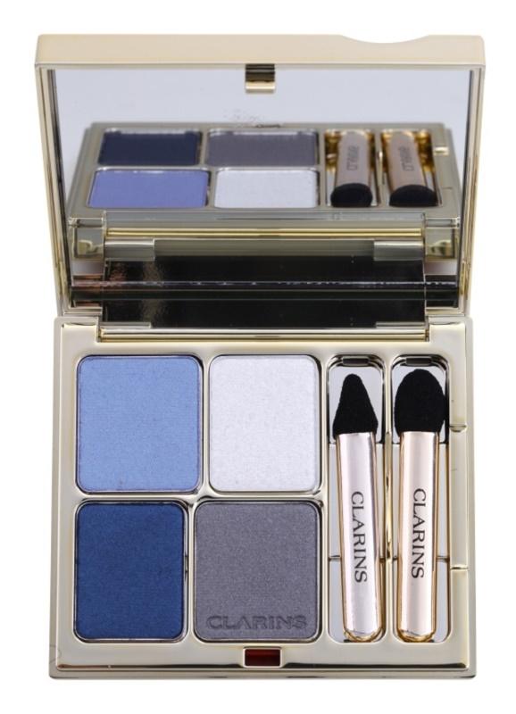Clarins Eye Make-Up Ombre Minérale стійкі тіні для повік з дзеркальцем та аплікатором