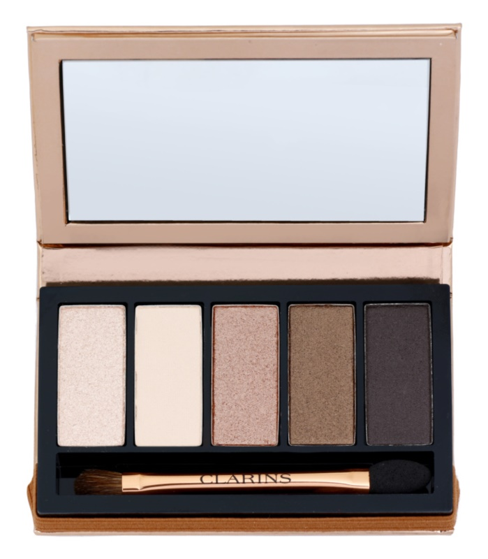 Clarins Eye Make-Up Palette 5 Couleurs 5 színt tartalmazó szemhéjfesték paletta