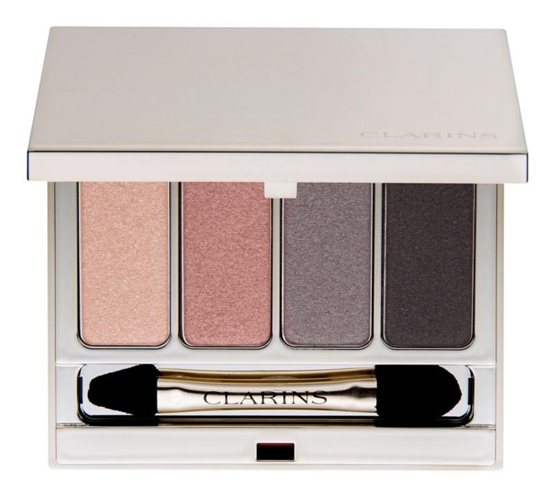 Clarins Eye Make-Up Palette 4 Couleurs палітра тіней
