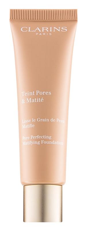 Clarins Pore Perfecting matirajoči tekoči puder za zmanjšanje por