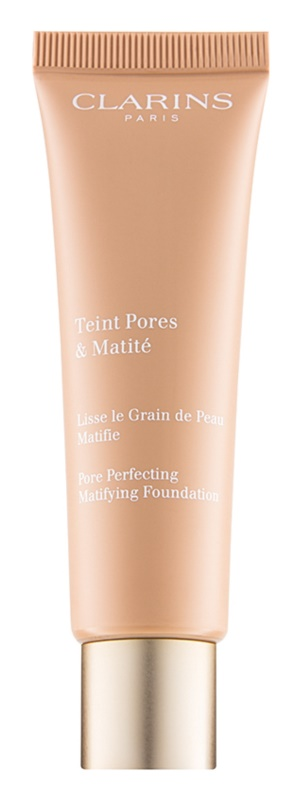 Clarins Pore Perfecting матуючий тональний крем для звуження пор