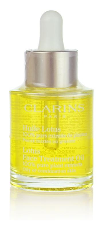 Clarins Rebalancing Care regeneracijsko olje z gladilnim učinkom za mastno in mešano kožo