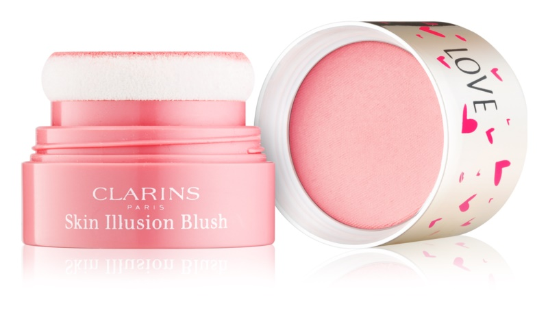 Clarins Face Make-Up Skin Illusion kompaktní tvářenka