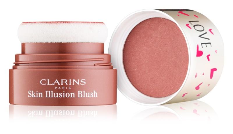 Clarins Face Make-Up Skin Illusion kompakt arcpirosító