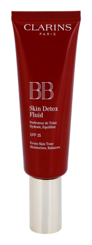 Clarins Face Make-Up BB Skin Detox Fluid BB Crème met Hydraterende werking SPF 25