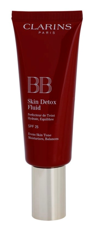 Clarins Face Make-Up BB Skin Detox Fluid BB Crème met Hydraterende werking SPF 25