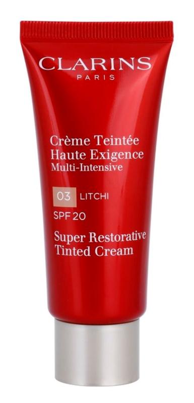 Clarins Super Restorative Herstellende Anti-Rimpel Toningscrème  SPF 20