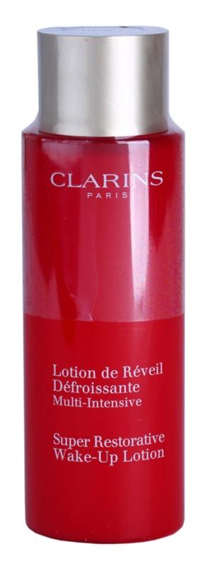 Clarins Super Restorative rozjasňujúca pleťová voda pre mladistvý vzhľad