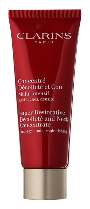 Clarins Super Restorative Anti-Rimpel Verstevigende Crème voor Hals en Decolleté