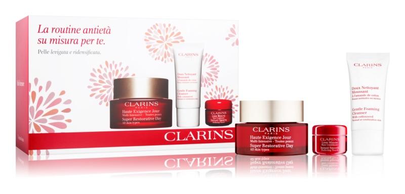 Clarins Super Restorative козметичен пакет  II.
