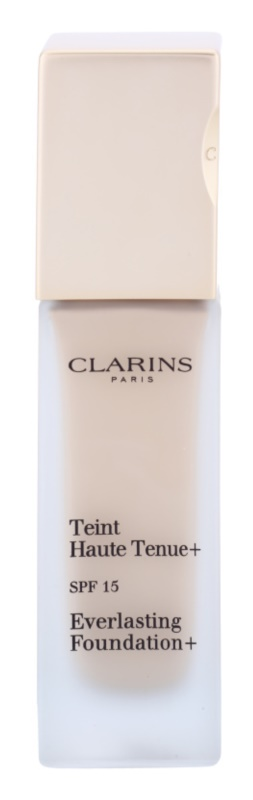 Clarins Face Make-Up Everlasting Foundation+ дълготраен течен фон дьо тен SPF 15