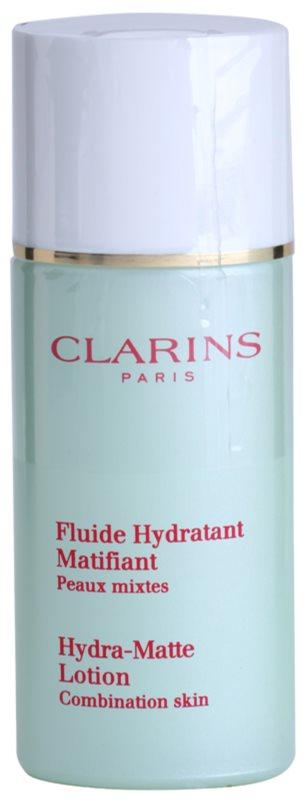 Clarins Truly Matte Kalmerende en Hydraterende Fluid  tegen Glimmen en Verwijde Poriën