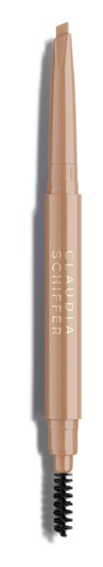 Claudia Schiffer Make Up Brows tužka na obočí s kartáčkem