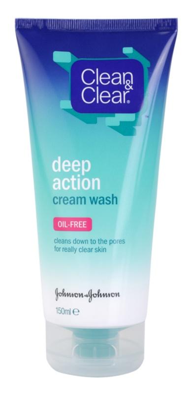 Clean & Clear Deep Action hĺbkovo čistiaca krémová emulzia na tvár