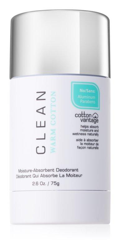 CLEAN Warm Cotton déodorant stick pour femme 75 g